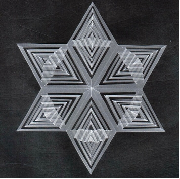 Transparentpapier-Sterne selber machen