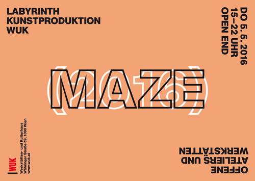 MAZE/Intakt im WUK,  5.-8.5.2016