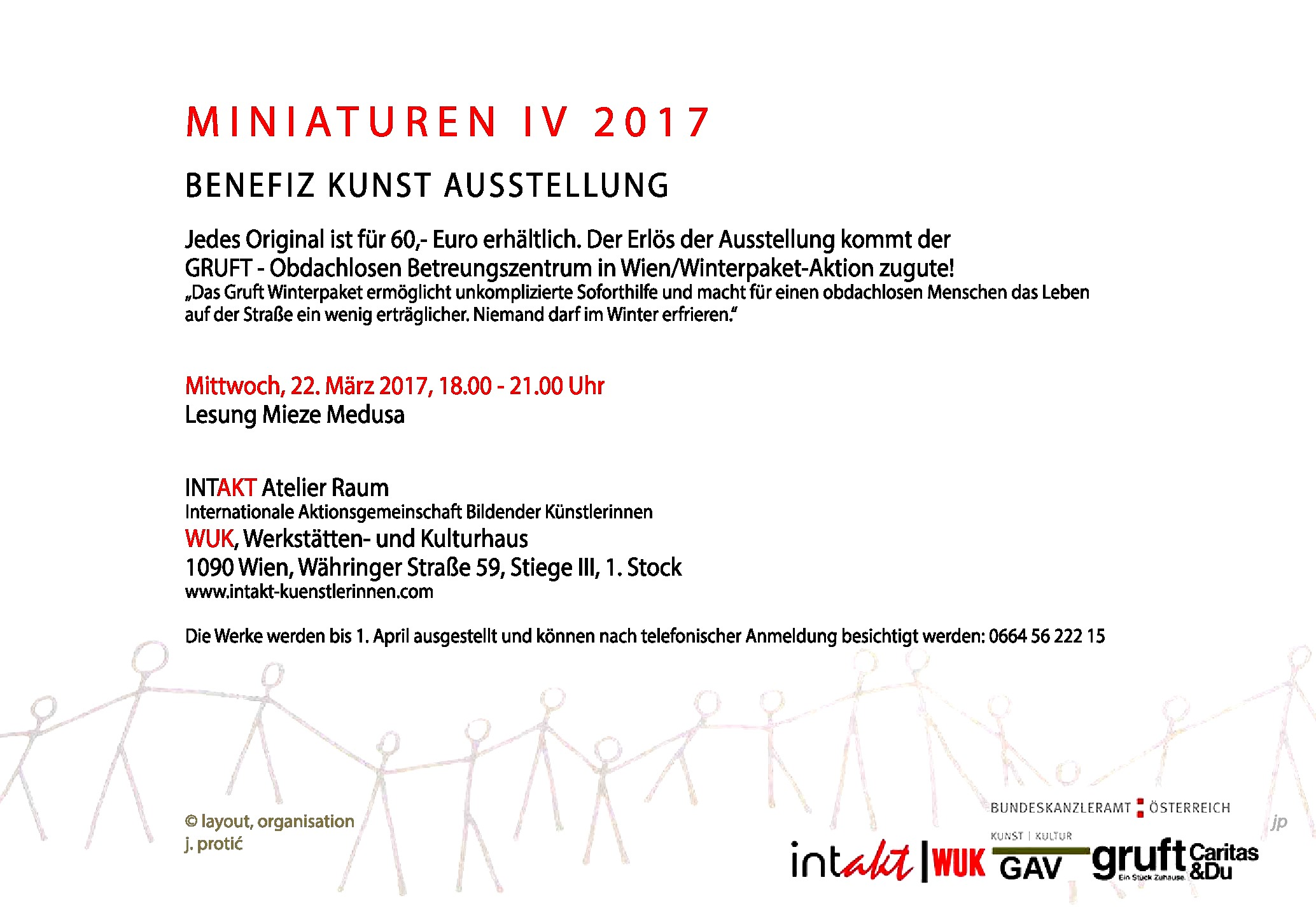 MINIATUREN IV 2017 – Benefiz Kunst Ausstellung