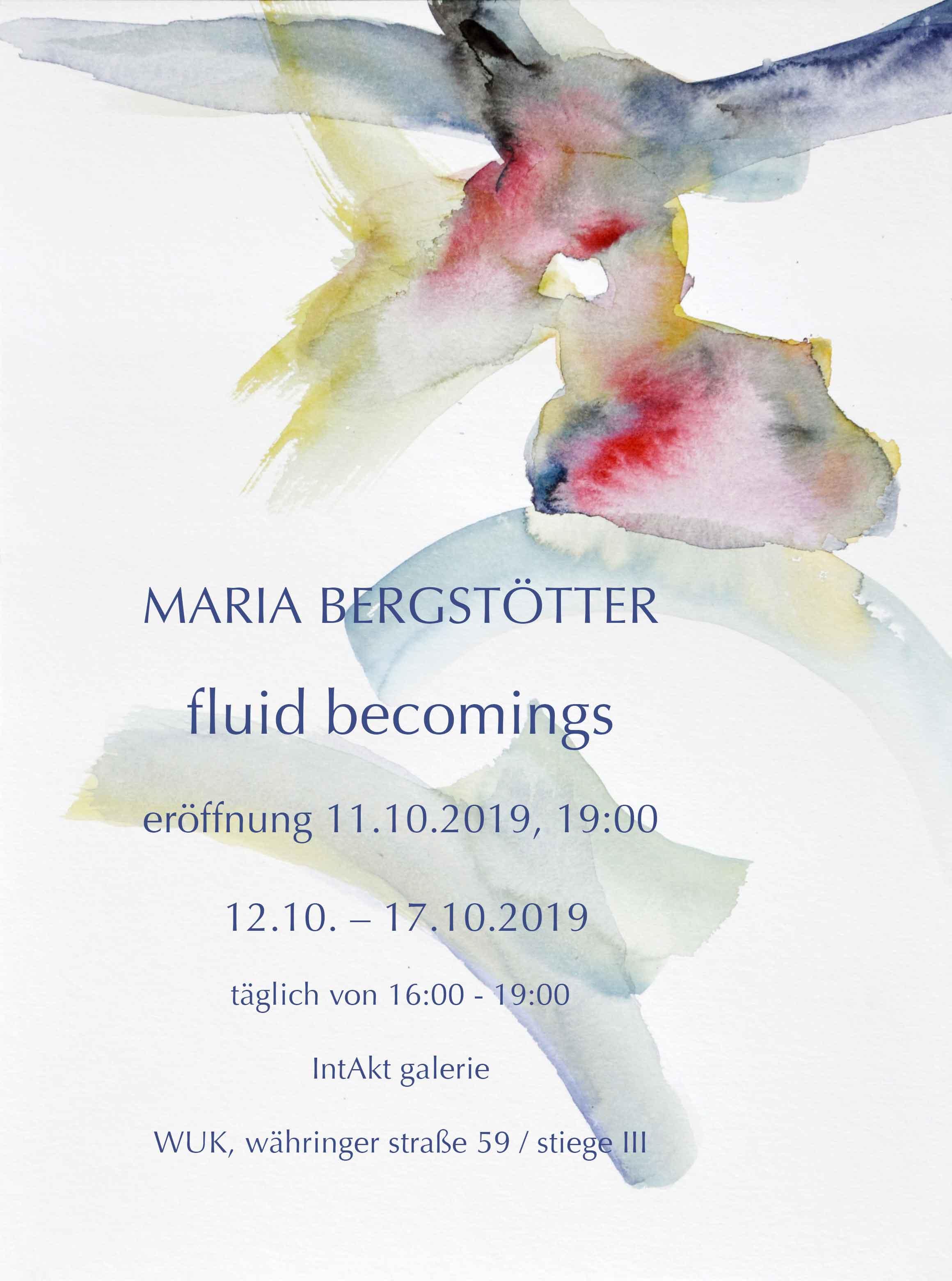 Maria Bergstötter – fluid becomings